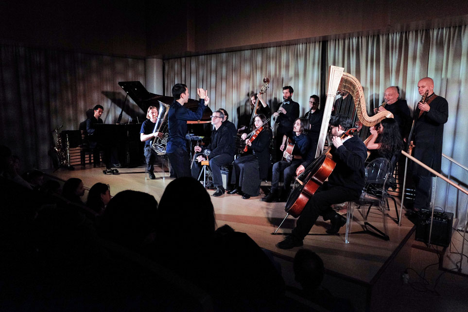 St.Petersburg Improvisers Orchestra at Mariinsky Theater